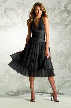 I love this for a bridesmaid dress, very pretty!