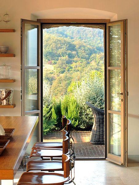 Tuscan Modern Spinaltermine Villa Pinteriors