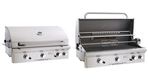 """AOG 36"""" Built-In Grill w/o Backburner and Warming Rack   Smokin Hot BBQ Grills"""