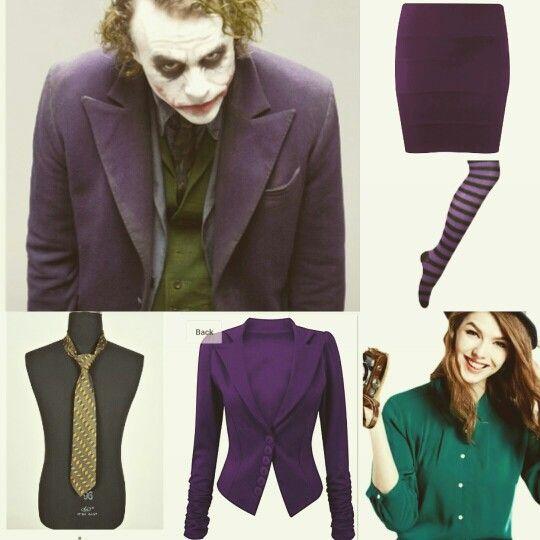 Joker Halloween fancy dress costume