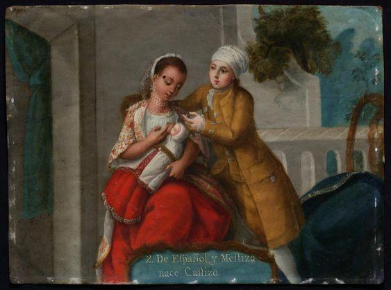 2. De Español y Mestiza, nace Castizo (From a Spaniard and Mestiza, a Castizo is born) | Museum of Fine Arts, Boston