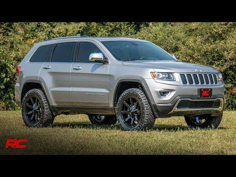 Want To Increase The Ride Height Of Your Jeep Grand Cherokee Wk2 Get The Aggressive Good Looks With Rough Country 2 5 Suspension Lift Kit 100 Bolt On Instal