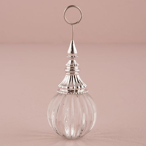 Ornamental Ribbed Orb Stationery Holder - Bridal Everything