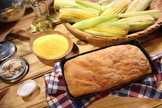 Receita de Pão de Milho. http://belavista.tur.br/pao-de-milho/