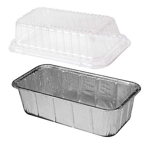 Multi Pack Of Disposable Aluminum Foil Loaf Bread Pans 2 Lb