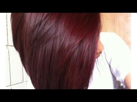 لون رااائع وثابت جداا بدون صبغات شعرك باللون الاحمر العنابى المميز تغطية الشيب والشعر الابيض Yo Black Cherry Hair Black Cherry Hair Color Cherry Hair Colors