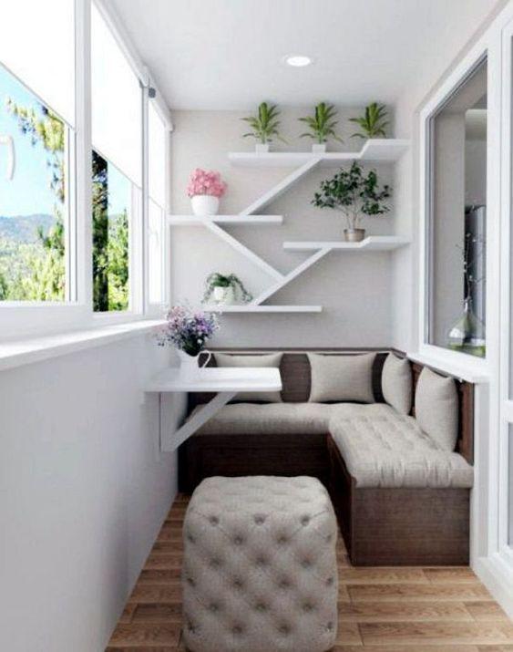 24 Modern Small Balcony Design Ideas For Apartment Apartment Balcony Decorating Balcony Furniture Balcony Decor