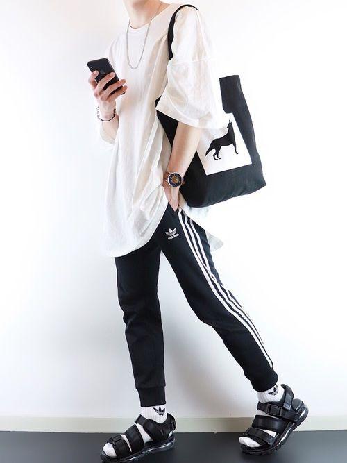 ぴたん Basque Magentaのtシャツ カットソーを使ったコーディネート Wear メンズファッションスタイル ファッション シャツ カットソー