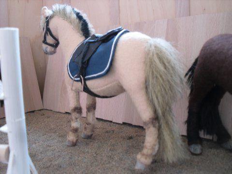 Eu Amo Artesanato: Cavalinhos com molde лошадь horse