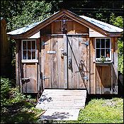8x12 Tool Shed Storage Cottage Shed Barn Kit Plans
