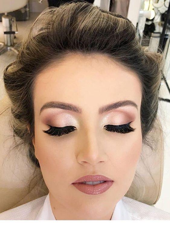 Unique Soft Pink Makeup Look Bridesmaid Makeup Natural Wedding Makeup Wedding Day Makeup