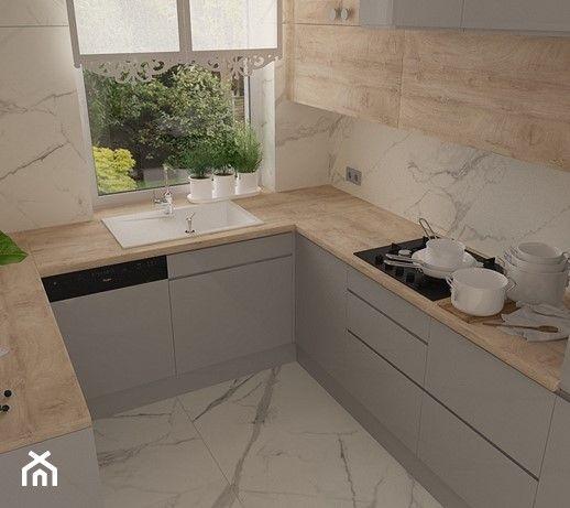 Aranzacje Wnetrz Kuchnia Kuchnia W Domu Jednorodzinnym Motif Design Przegladaj Dodawaj Kitchen Room Design Kitchen Furniture Design Kitchen Design Decor
