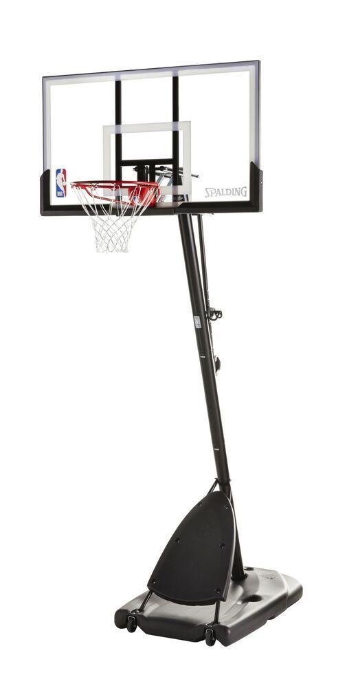 Advertisement Ebay Basketball Hoop 54 Portable Angled Basket Spalding Nba 10ft Tall Adjustable Basketball Hoop Spalding Basketball Hoop Basketball Clipart