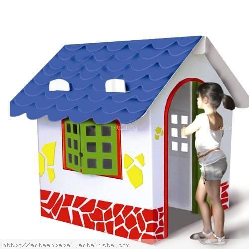 Cajas de carton para ni os buscar con google casas de - Casas para ninos de carton ...