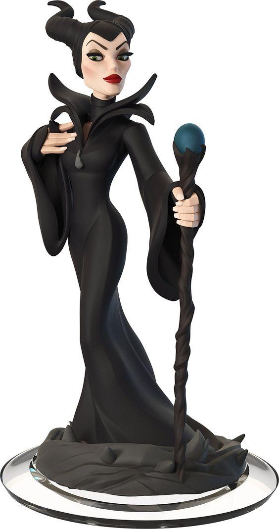 Figurine 'Disney Infinity 2.0' - Disney Originals : Maléfique: Pas de plate-forme spécifique: Amazon.fr: Jeux vidéo