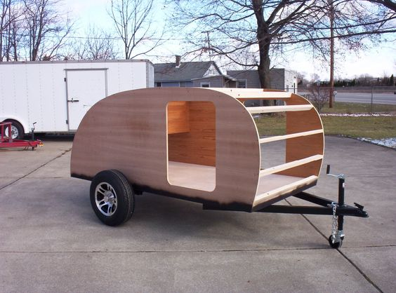 Cool A Teardrop Trailer, Also Known As A &quotTeardrop Camper Trailer&quot, Is A Streamlined  In Addition, We Ordered A &quotKit&quot