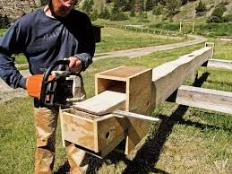 Diy chainsaw mill plans google search cabin dreams How to build a butt and pass log cabin