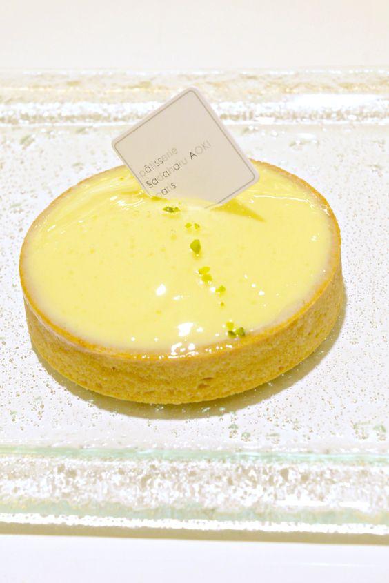 Lemon Tart @ Patisserie Sadaharu AOKI Paris Taipei