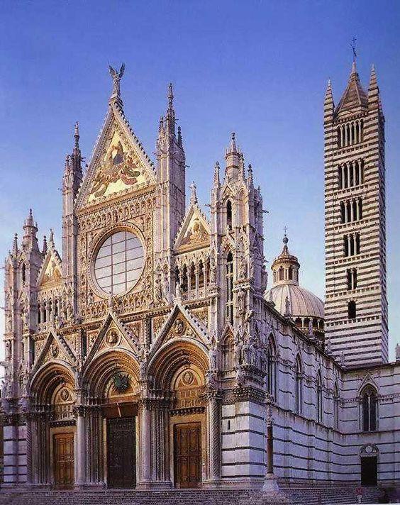 Siena - Duomo    #SACI field trips include beautiful #Siena (#Tuscany).  http://www.saci-florence.edu/17-category-study-at-saci/90-page-field-trips.php