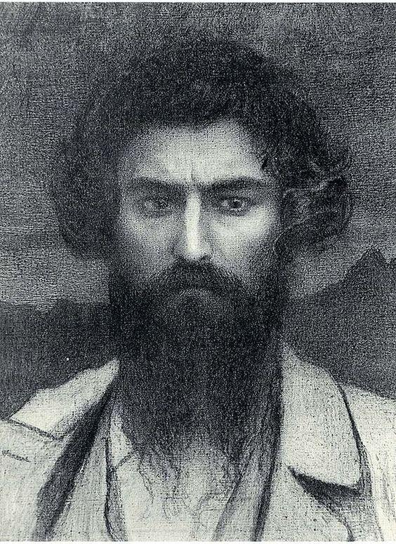 Giovanni Segantini, Autoritratto