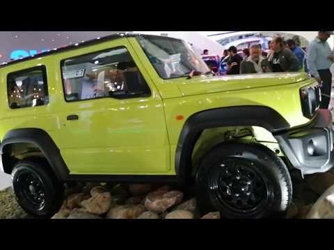 2020 Suzuki Jimny Displayed By Company At Lahore Pakistan Auto