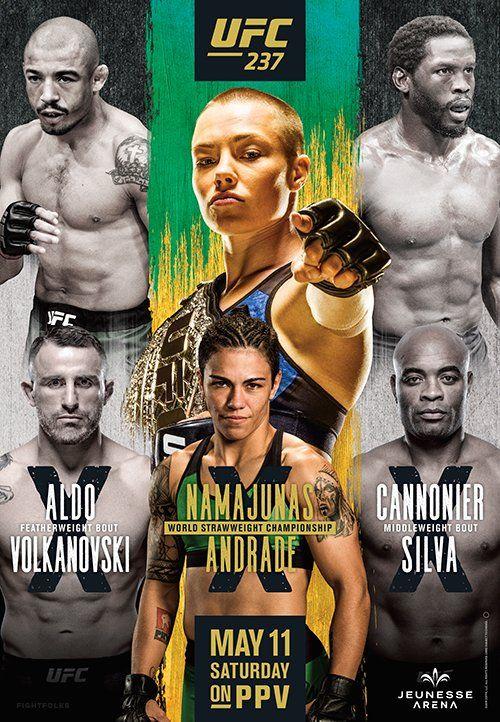 UFC 239 Jones vs Santos Nunes vs Holm Official Fight Promotional Poster 18x24