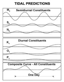 Graph showing one line each for M2, S2, N2, K1…