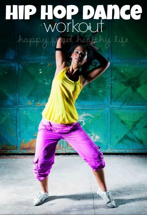 HIP HOP DANCE WORKOUT - Love Zumba but would rather dance to hip hop music?   www.happyfoodhealthylife.com