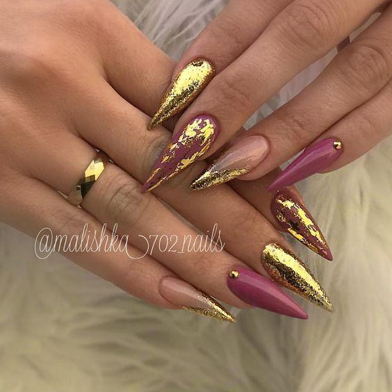 Short Long Stiletto Nails Glitter Stiletto Nail Art Ideas Classy Stiletto Nail Designs Matte Nail Art Designs W Stiletto Nails Solid Color Nails Prom Nails