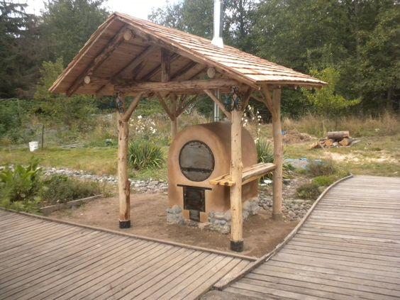 barrel oven. like the shelter