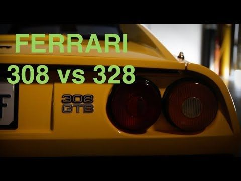 Ferrari 308 Vs 328 A Quick Overview Ferrari Car Videos Youtube