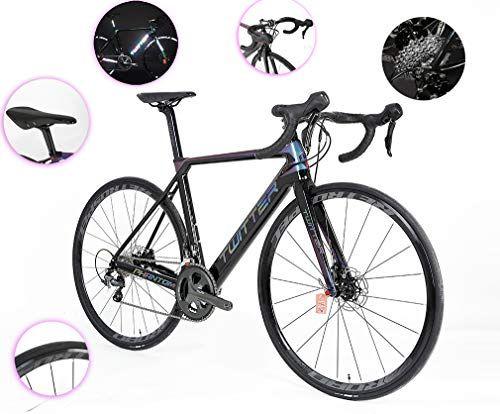 Dubaobao Bicicleta De Carretera Bicicleta De Montaña Ultraligera De Fibra De Carbono 700c De Modo Alto Y 8 5kg Adecuada Para La Altura De La Multitud Todo De