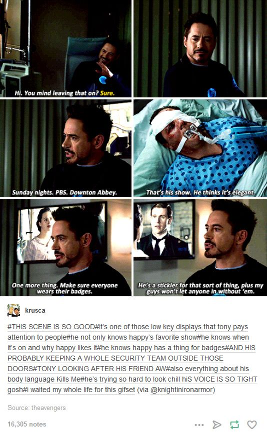 does tony stark have a heart