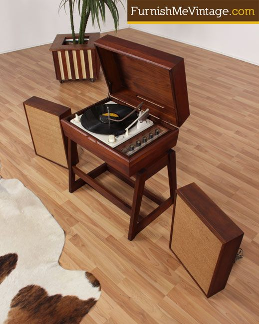 Mid Century Modern Readeru0027s Digest Cyclophonic Stereo With Record Player |  Vintage♥ | Pinterest | Mid Century Modern, Mid Century And Modern