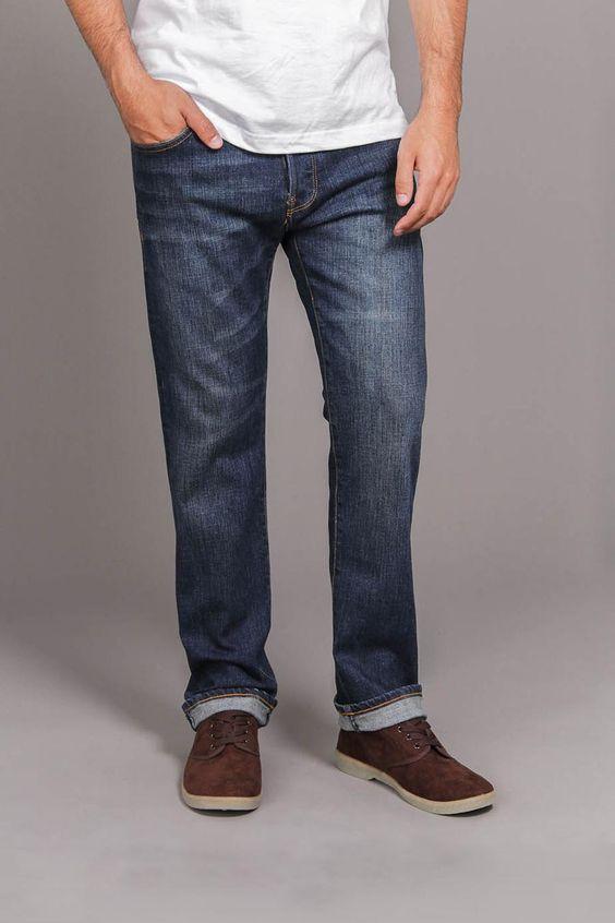 Indigo Denim Jeans.