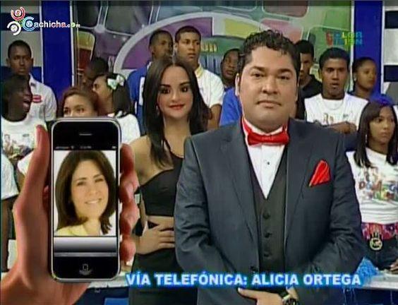 Alicia Ortega Habla De La Entrada Del Grupo SIN A Color Visión Con @DomingoyPacha @Manny_Peralta @ElPachaOficial #Video