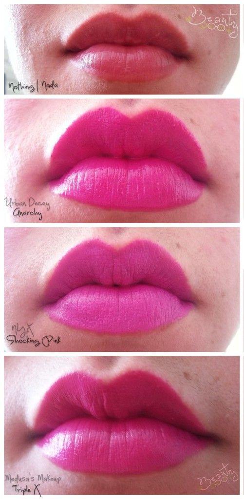 Dupe!! Urban Decay Revolution Lipstick In Anarchy Vs