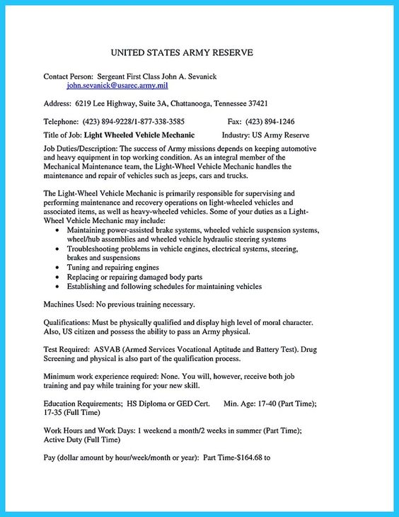 awesome Delivering Your Credentials Effectively on Auto Mechanic - heavy equipment mechanic resume