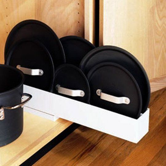 Lid Maid Pot Pan Lid Organizer: 5 Clever Vertical Storage Solutions