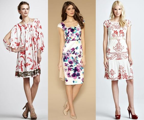 Here we have an elegant collection of summer evening wedding guest ...