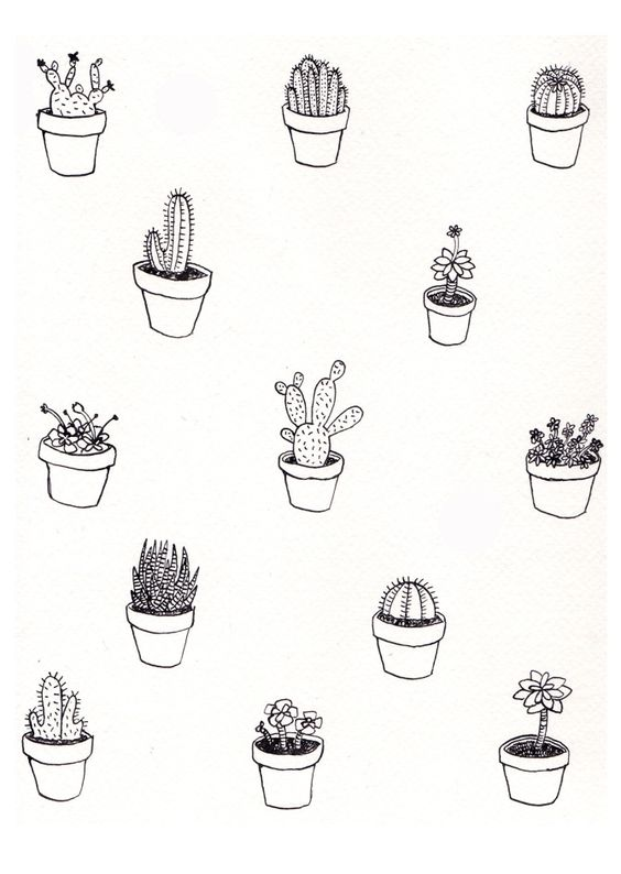 Plant Feelings Zine by Ashley Ronning Design #illustration: