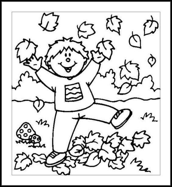 Infantil Mercedarias: Otoño llego