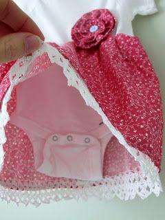 transform fashion for kids: sewing tutorial, onesie dress tutorial