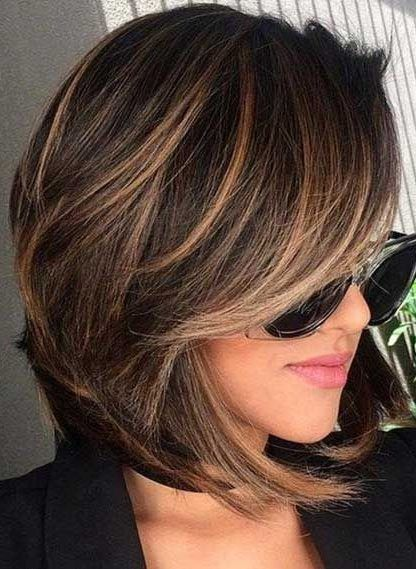 50 Hair Color Ideas For Short Hair Color Inspirations For 2019 With Hairstyle In 2020 Brown Hair Colors Hair Inspiration Color Chocolate Brown Hair Color