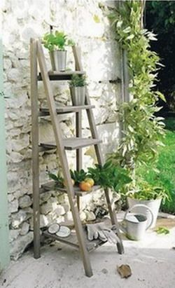 Muchas veces las escaleras son ideales para cualquier - Escaleras de jardin ...