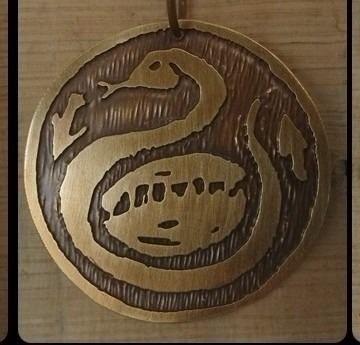 Medalha Oxumaré - Orixá Candomblé - R$ 30,00