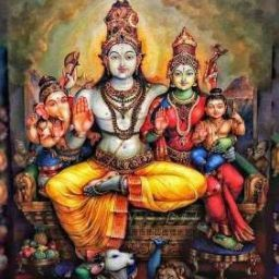 pic of lord shiva family