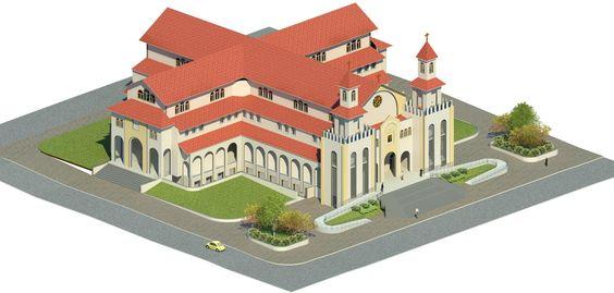 Projeto da Co-Catedral de Mozarlandia, Estado de Goiás.
