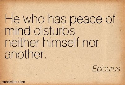 epicurus quotes happiness - Google Search