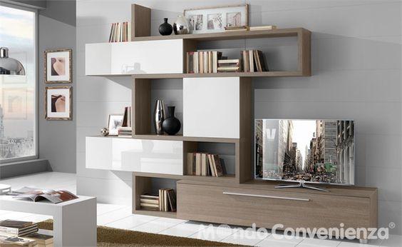 Soggiorni - Moderno - Step - Mondo Convenienza - La nostra forza è il prezzo  Living room ...